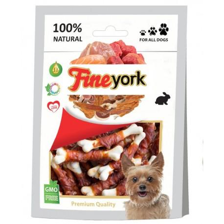 FineYork Calcium Bone z mięsem królika 80g