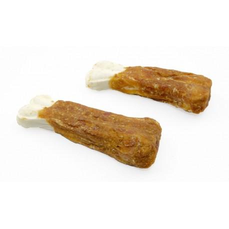 Rawhide kość prasowana z mięsem kurczaka 10cm 10sz